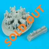 Quickboost QB72 242 Me 262 starboard engine for Revell in 1:72